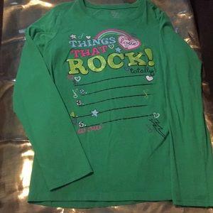 Girls children's place shirt